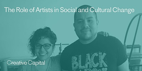 The Role of Artists in Social and Cultural Change tickets