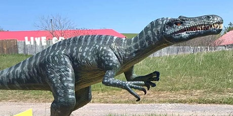 Dinosaur Drive-Thru:  Tuesday July 21st  - COVID 19 Safe tickets
