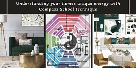 Feng Shui Road Map - Find YOUR Homes Lucky pockets - Compass School tickets