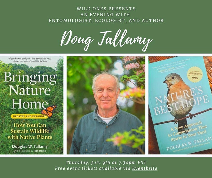 Wild Ones presents Nature's Best Hope by Doug Tallamy image