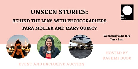 Unseen Stories: Behind the lens with Tara Moller & Mary Quincy tickets
