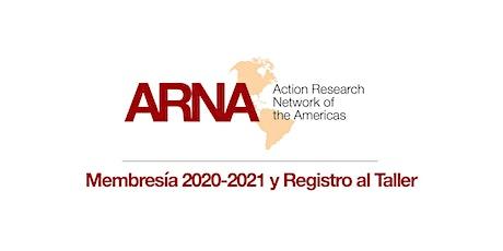 Membresía 2020-2021 y Registro al Taller (Región Sur)
