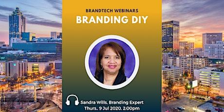 BrandTech Webinar: Branding DIY tickets