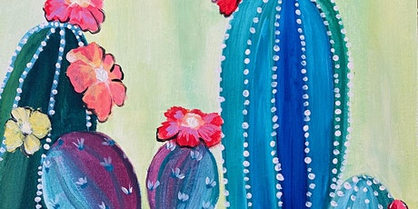 Paint & Sip Online Event  'The Social Cactus' LIVE on YouTube tickets
