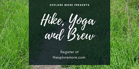 Hike, Yoga and Brew tickets