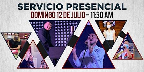 Servicio Familiar 12 de Julio de 2020 - 11:30 AM boletos