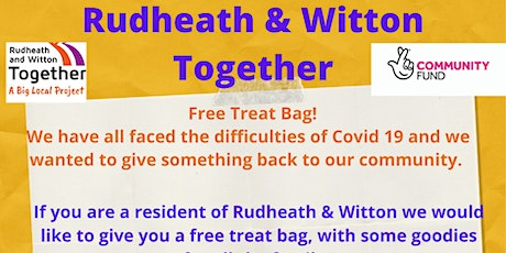 Collect a free family treat bag 1 tickets