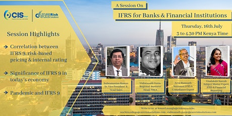 COVID-19 AND IFRS 9 WEBINAR FOR BANKS AND FINANCIAL INSTITUTIONS tickets