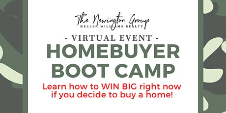 Homebuyer Boot camp: Find out how to WIN BIG right now! tickets