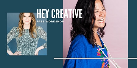 Hey Creative: Let's talk about COPYWRITING! FREE  Workshop with Lydia Mack tickets