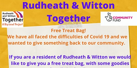 Collect a free family treat bag 2 tickets