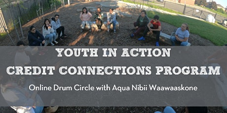 Online Drum Circle with Aqua Nibii Waawaaskone tickets