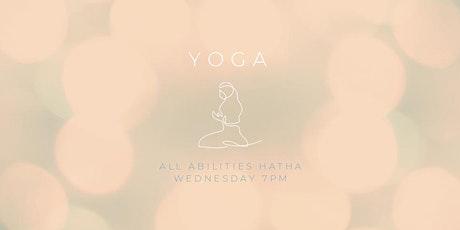 Wednesday Yoga tickets