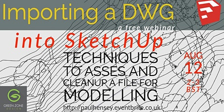 Importing a DWG survey into SketchUp tickets