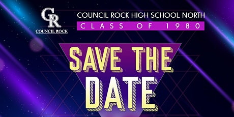 40th Reunion of Council Rock Class of 1980 at The Grey Stone Inn at 552 Was tickets