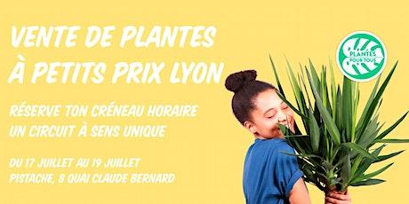 Vente de plantes à petits prix LYON billets