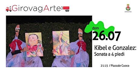 Teatro dei Piedi di Kibel e Gonzalez - Sonata a 4 piedi biglietti