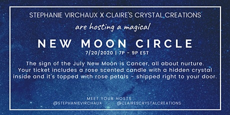 New Moon Circle / Includes candle and crystal tickets