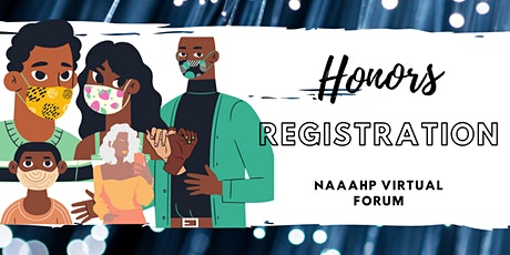 National Association of African American Honors Programs (NAAAHP) Virtual tickets