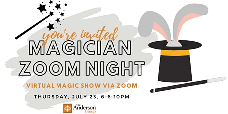 Magician Zoom Night - The Anderson Group tickets