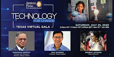 Technology for Change w/ Narayana Murthy & Siva Sivaram biglietti