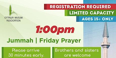 Ottawa Mosque Friday Prayer Registration tickets