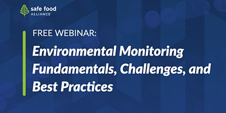 Environmental Monitoring Fundamentals, Challenges, and Best Practices tickets