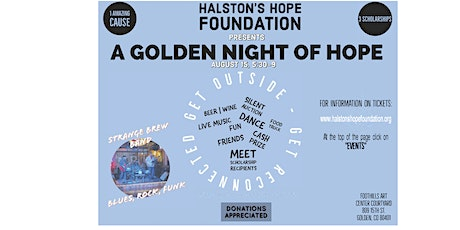 Halston's Hope Foundation presents  A GOLDEN NIGHT OF HOPE tickets