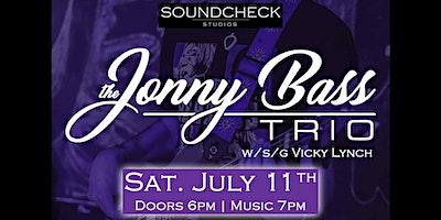 The Jonny Bass Trio feat. Vicky Lynch at Soundchec