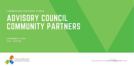 CareerSource NEFL  Advisory Council Community Partners tickets