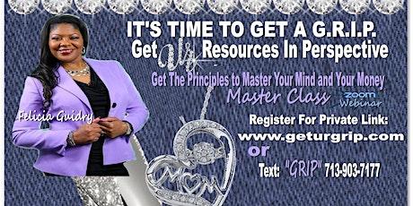Kingdom Impact Mindset and your Money Master tickets