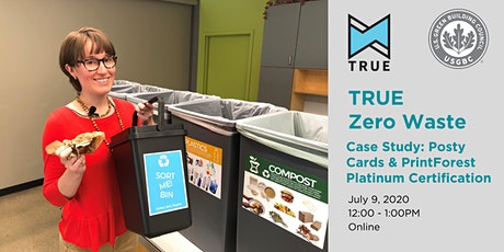 TRUE Zero Waste Project Spotlight: Posty Cards and PrintForest tickets