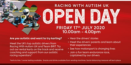 Racing With Autism Karting Open Day entradas