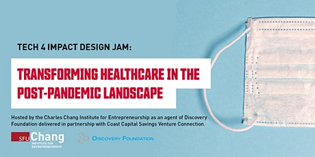 Design Jam: Transforming healthcare in the post-pandemic landscape tickets