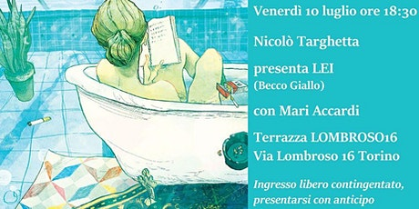 Nicolò Targhetta presenta LEI biglietti