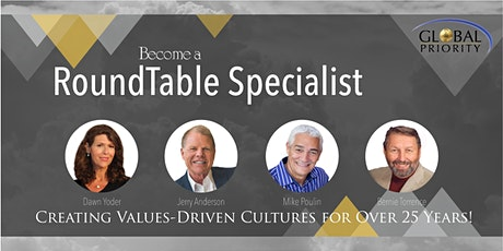 ONLINE AND IN PERSON ROUNDTABLE SPECIALIST TRAINING tickets