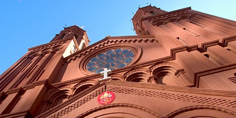 Holy Mass Sunday, July 12th 10:00am.  Ticket(s) required for entry. tickets