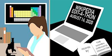 Wikipedia Edit-a-thon tickets