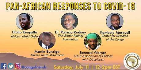 Pan African Responses to COVID-19 tickets