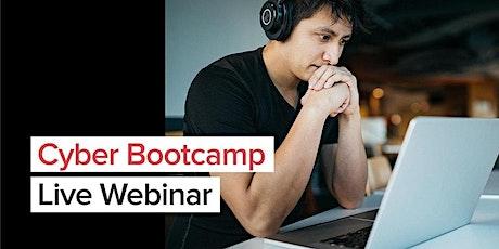 Fullstack Cyber Bootcamp Live Webinar tickets