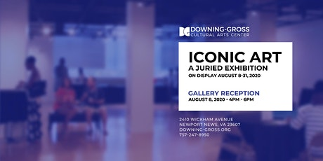 Iconic Art: A Juried Exhibition - Reception tickets