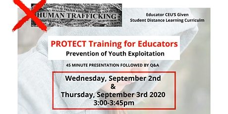 PROTECT Educator Training tickets
