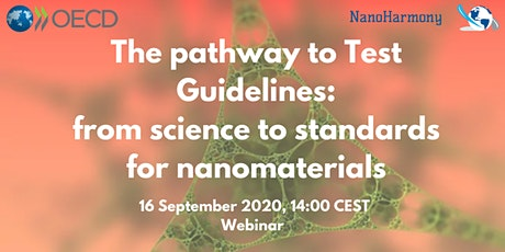 The pathway to Test Guidelines: from science to standards for nanomaterials tickets