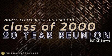 NLRHS c/o 2000 20-Year Reunion tickets