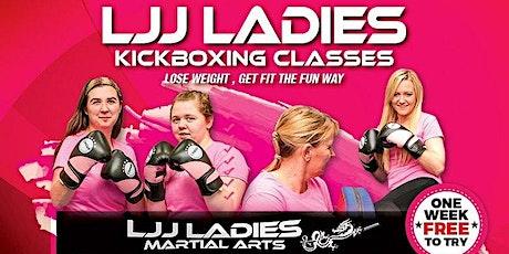 LJJ Ladies Kickboxing MEMBERS ONLY - Coalville open air training tickets
