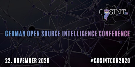 German Open Source Intelligence Conference Tickets