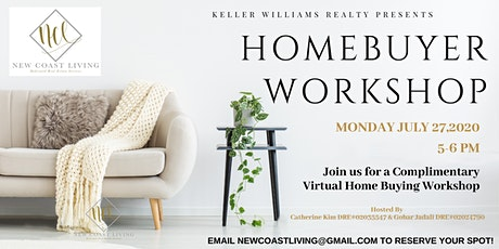 COMPLIMENTARY VIRTUAL HOMEBUYER WORKSHOP tickets