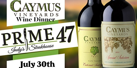Caymus Wine Dinner tickets