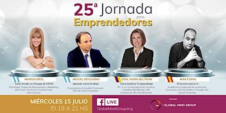 25° Jornada Para Emprendedores ONLINE entradas