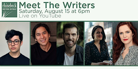 Meet the Writers August 15 at 6pm EST tickets